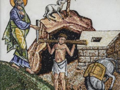il sacrificicio di isacco