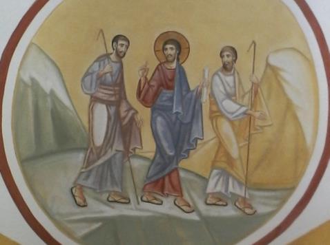 discepoli di emmaus (soffitto 2)